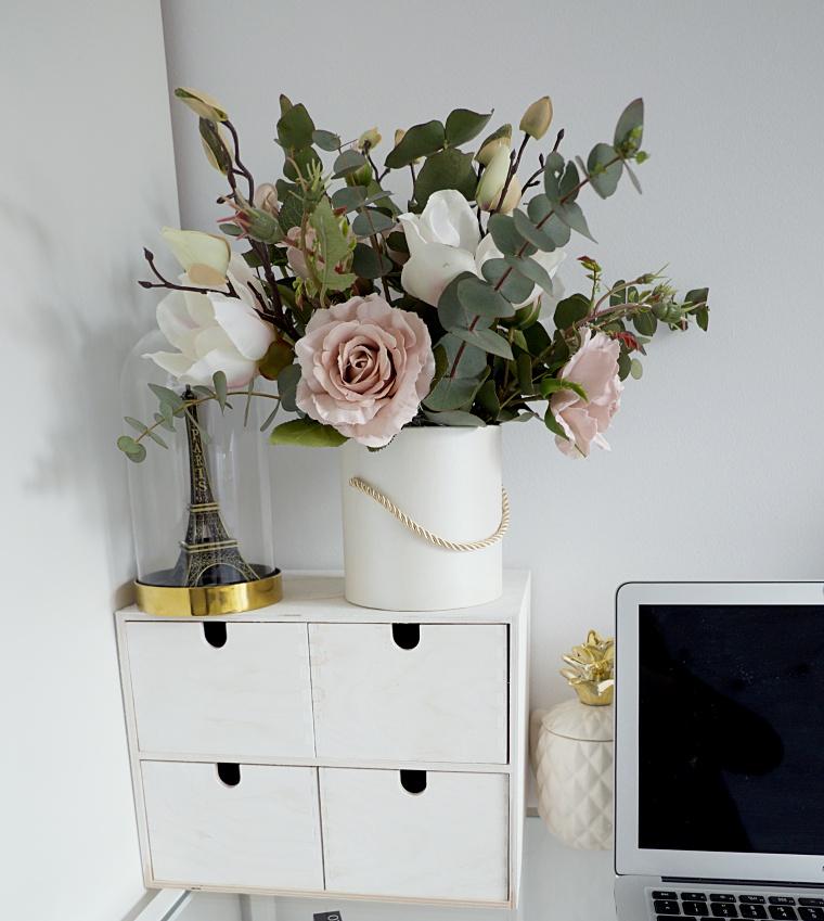 Flower Box Rustykalny diy pudelko z kwiatami