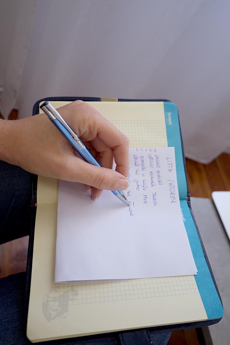 tworzenie listy zadan