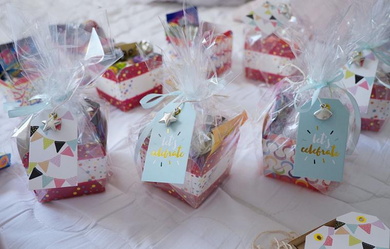 prezenty dla dzieci na przyjeciu urodzinowym