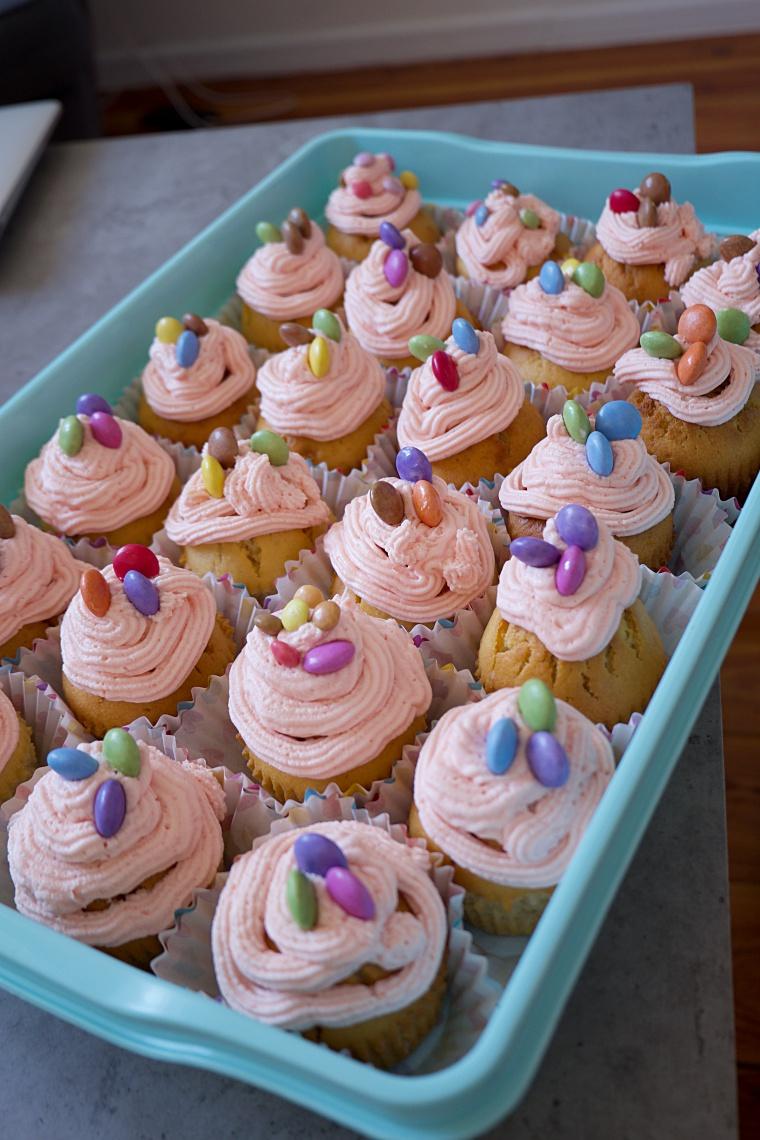 muffinki na urodziny dziecka