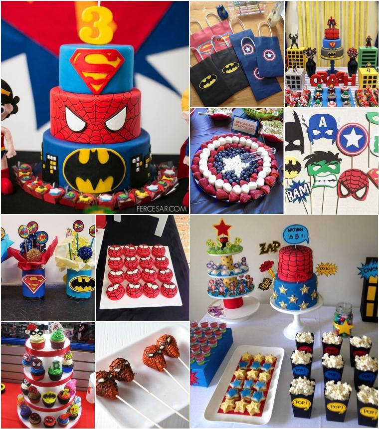 superbohaterzy pomysly na urodziny dziecka
